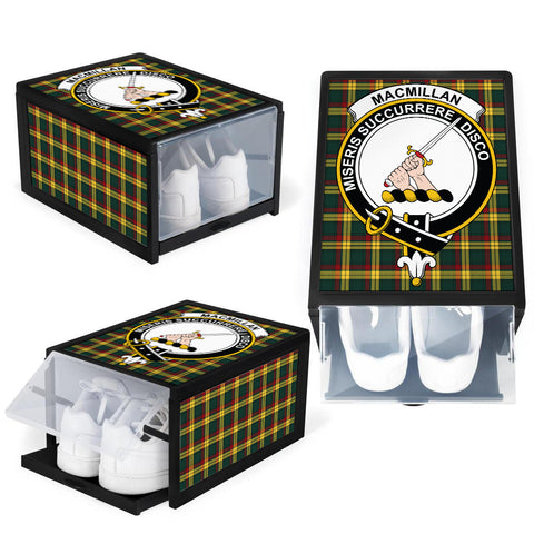 MacMillan Old Modern Clan Crest Tartan Scottish Shoe Organizers K9