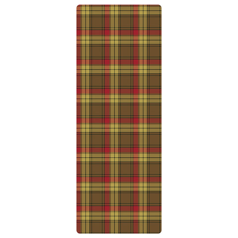 Image of MacMillan Old Weathered Clan Tartan Yoga mats