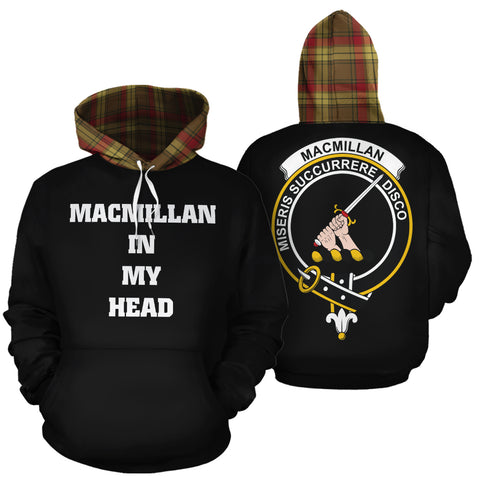 MacMillan Old Weathered In My Head Hoodie Tartan Scotland K9