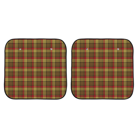 Image of MacMillan Old Weathered Clan Tartan Scotland Car Sun Shade 2pcs K7