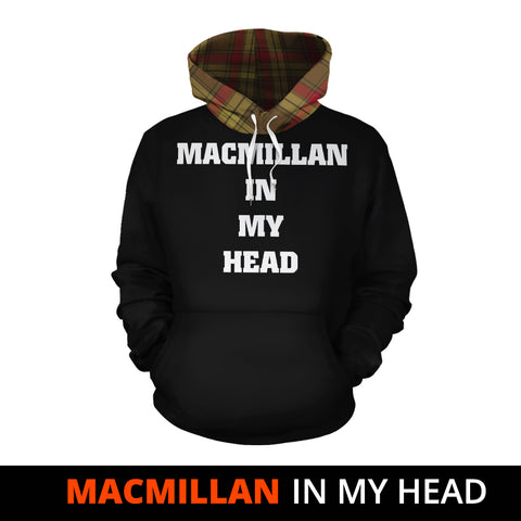 Image of MacMillan Old Weathered In My Head Hoodie Tartan Scotland K9