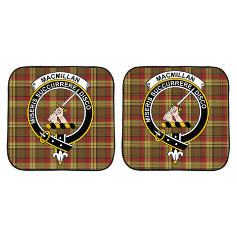 MacMillan Old Weathered Clan Crest Tartan Scotland Car Sun Shade 2pcs K7
