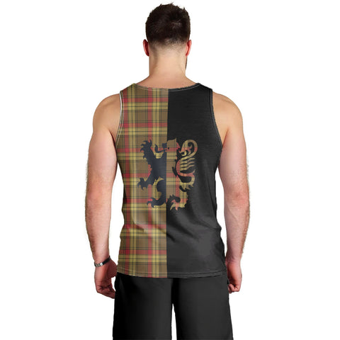 MacMillan Old Weathered Clan Tank Top Lion Rampant