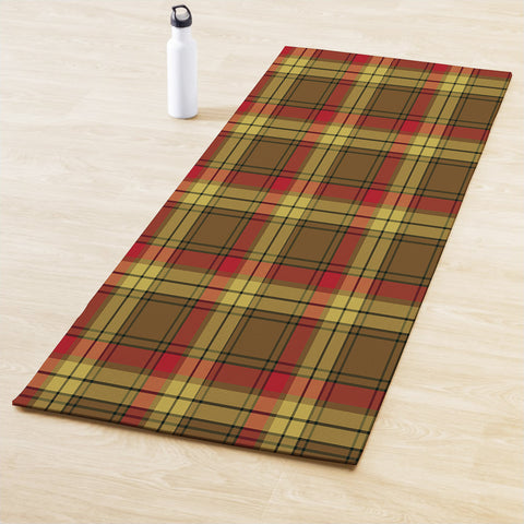 MacMillan Old Weathered Clan Tartan Yoga mats