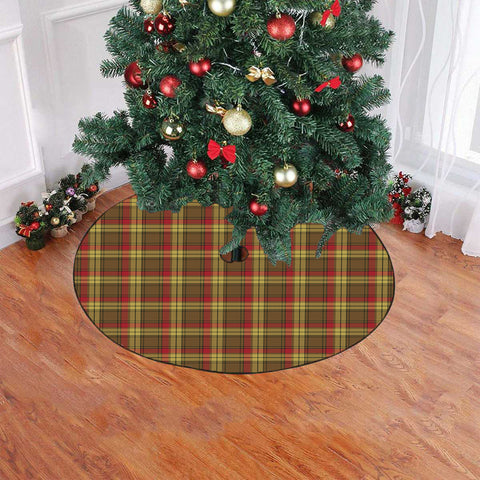 Image of MacMillan Old Weathered Tartan Tree Skirt Christmas
