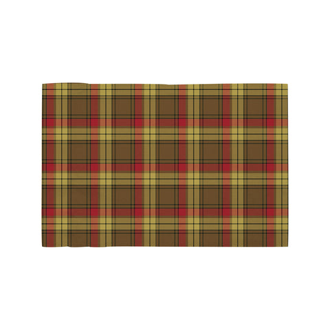MacMillan Old Weathered Clan Tartan Motorcycle Flag