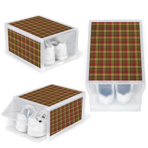 Image of MacMillan Old Weathered Clan Tartan Scottish Shoe Organizers K9