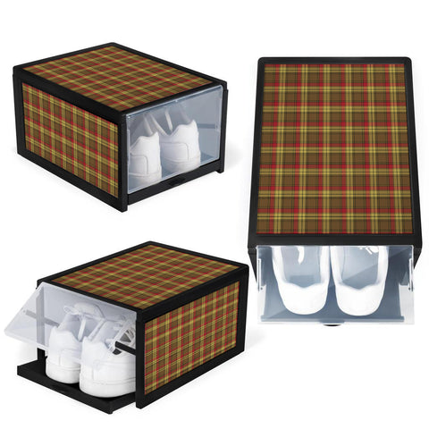 MacMillan Old Weathered Clan Tartan Scottish Shoe Organizers K9
