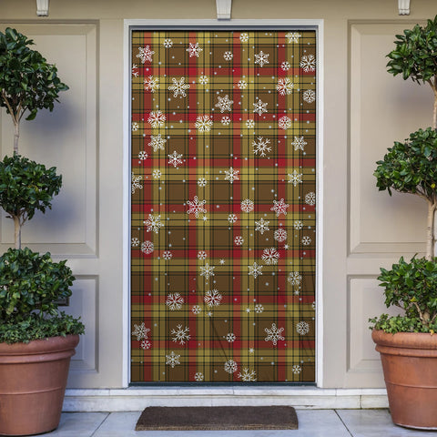 Image of MacMillan Old Weathered Christmas Tartan Door Sock Cover