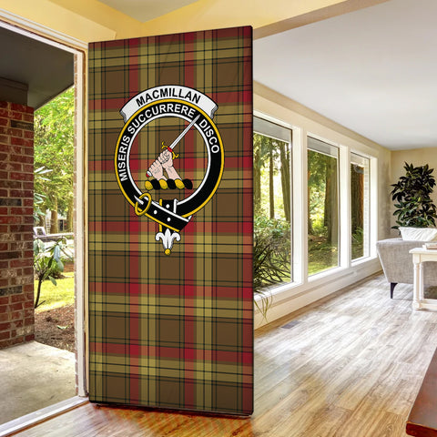 Image of MacMillan Old Weathered Tartan Door Sock Cover