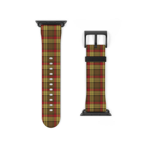 MacMillan Old Weathered Scottish Clan Tartan Watch Band Apple Watch