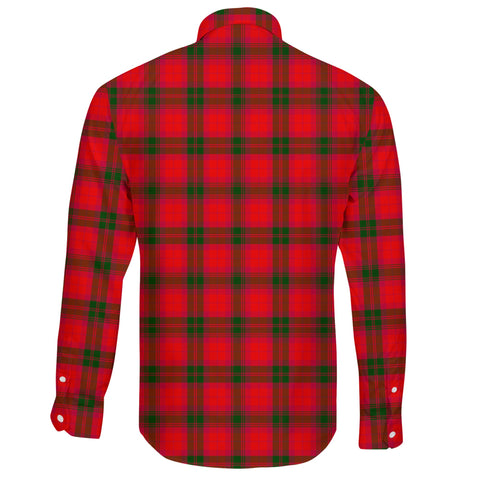 MacNab Modern Tartan Clan Long Sleeve Button Shirt A91