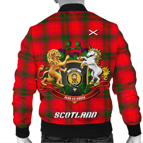 MacNab Modern | Tartan Bomber Jacket | Scottish Jacket | Scotland Clothing