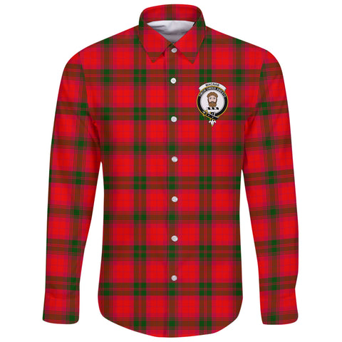MacNab Modern Tartan Clan Long Sleeve Button Shirt | Scottish Clan