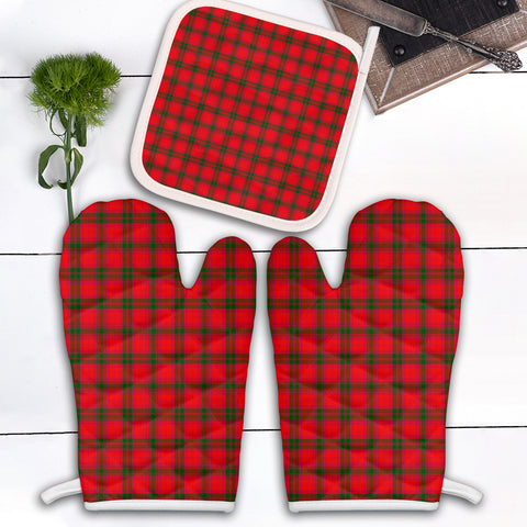 MacNab Modern Clan Tartan Scotland Oven Mitt And Pot-Holder (Set Of Two)