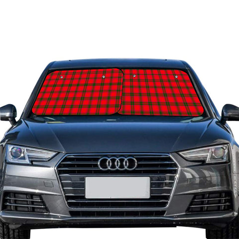 Image of MacNab Modern Clan Tartan Scotland Car Sun Shade 2pcs