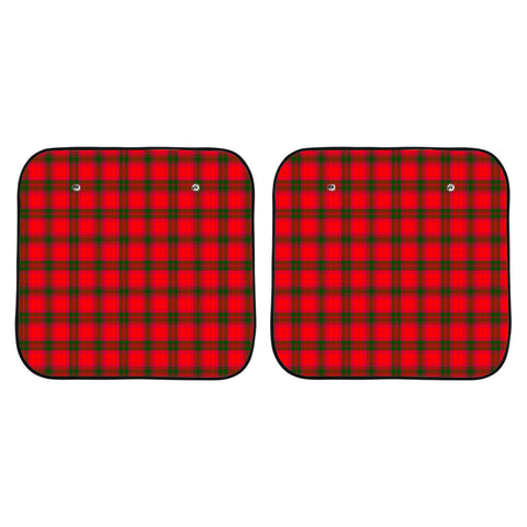 Image of MacNab Modern Clan Tartan Scotland Car Sun Shade 2pcs K7