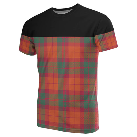 Image of Tartan Horizontal T-Shirt - Macnab Ancient