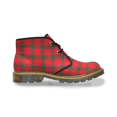 MacNab Modern Tartan Chukka Boot | Over 500 Tartans | Special Custom Design | Love Scotland