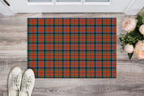 MacNaughton Ancient Tartan Carpets Front Door A91