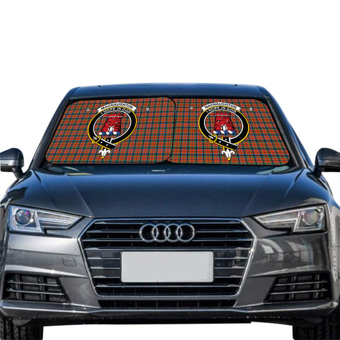 MacNaughton Ancient Clan Crest Tartan Scotland Car Sun Shade 2pcs