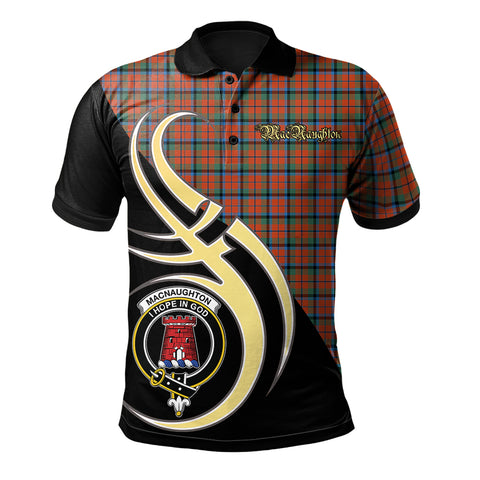 MacNaughton Ancient Clan Believe In Me Polo Shirt