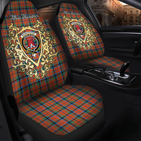 MacNaughton Ancient Clan Car Seat Cover Royal Sheild