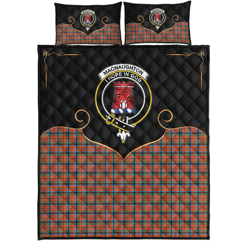 Image of MacNaughton Ancient Clan Cherish the Badge Quilt Bed Set