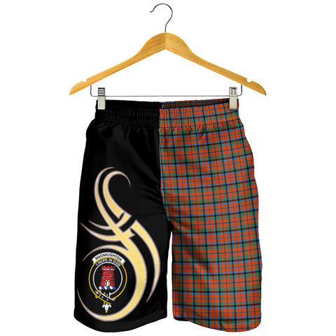 MacNaughton Ancient Clan Believe In Me Men Short