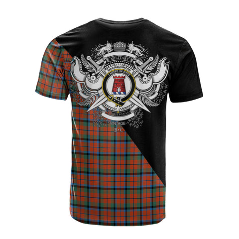 MacNaughton Ancient Clan Military Logo T-Shirt K23
