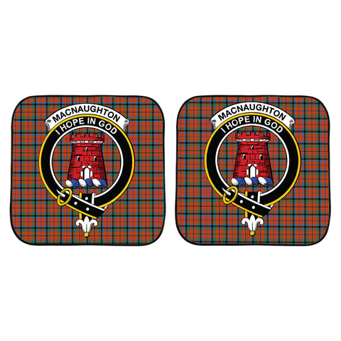 MacNaughton Ancient Clan Crest Tartan Scotland Car Sun Shade 2pcs K7