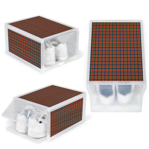 MacNaughton Ancient Clan Tartan Scottish Shoe Organizers K9