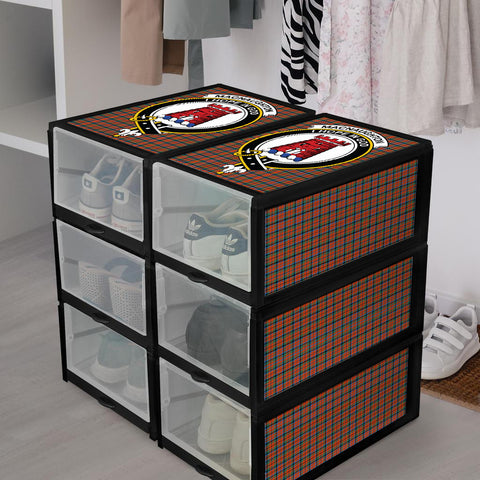 MacNaughton Ancient Clan Crest Tartan Scottish Shoe Organizers K9