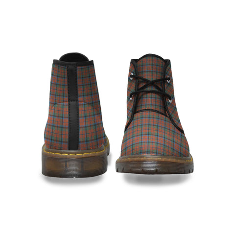 MacNaughton Ancient Tartan Chukka Boot | Over 500 Tartans | Special Custom Design | Love Scotland