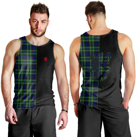 MacNeil of Colonsay Modern Clan Tank Top Lion Rampant