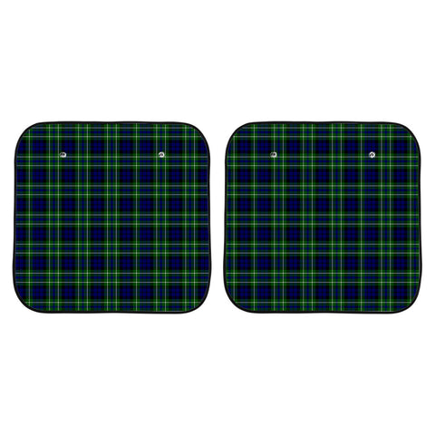 MacNeil of Colonsay Modern Clan Tartan Scotland Car Sun Shade 2pcs K7