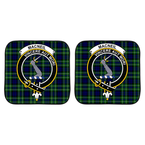 MacNeil of Colonsay Modern Clan Crest Tartan Scotland Car Sun Shade 2pcs K7