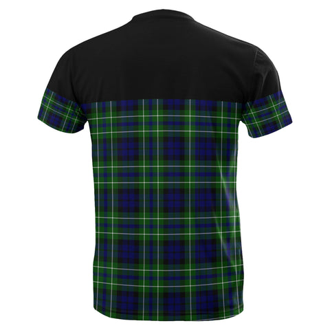 Image of Tartan Horizontal T-Shirt - Macneil Of Colonsay Modern - BN