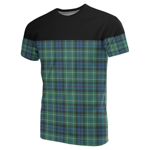 Tartan Horizontal T-Shirt - Macneill Of Colonsay Ancient