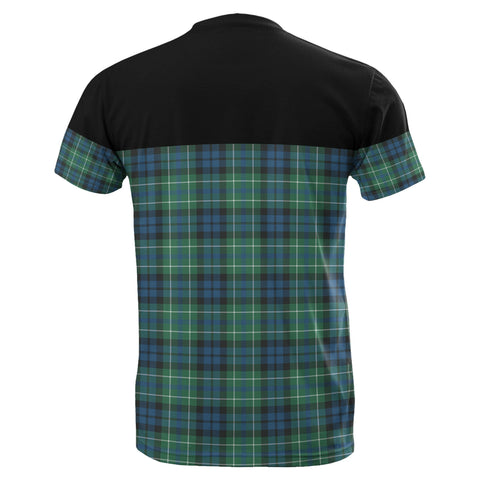 Tartan Horizontal T-Shirt - Macneill Of Colonsay Ancient - BN