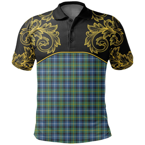 MacNeill of Barra Ancient Tartan Clan Crest Polo Shirt - Empire I - HJT4 - Scottish Clans Store - Tartan Clans Clothing - Scottish Tartan Shopping - Clans Crest - Shopping In scottishclans - Polo Shirt For You