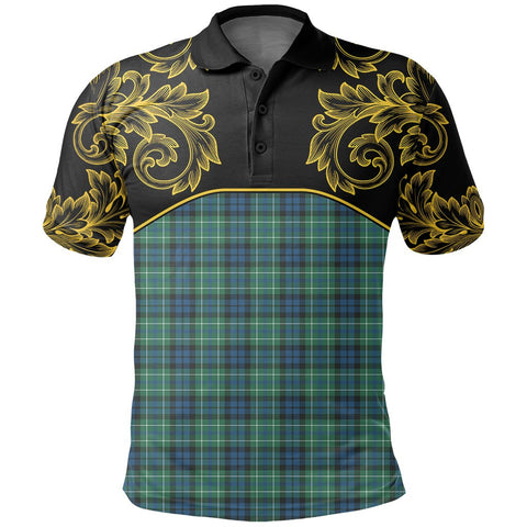 MacNeill of Colonsay Ancient Tartan Clan Crest Polo Shirt - Empire I - HJT4 - Scottish Clans Store - Tartan Clans Clothing - Scottish Tartan Shopping - Clans Crest - Shopping In scottishclans - Polo Shirt For You