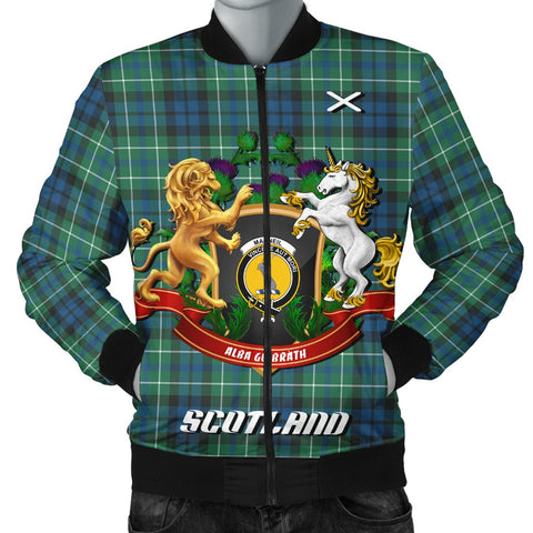 MacNeill of Colonsay Ancient | Tartan Bomber Jacket | Scottish Jacket | Scotland Clothing