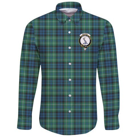 MacNeill of Colonsay Ancient Tartan Clan Long Sleeve Button Shirt | Scottish Clan