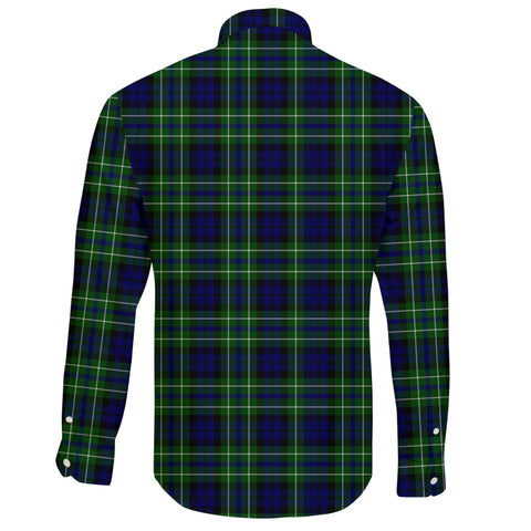 MacNeill of Colonsay Ancient Tartan Clan Long Sleeve Button Shirt A91