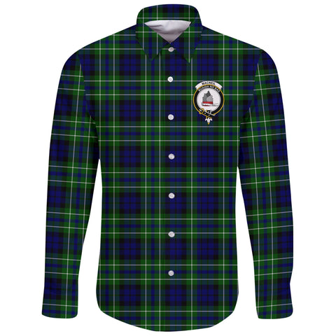 MacNeil of Colonsay Modern Tartan Clan Long Sleeve Button Shirt | Scottish Clan