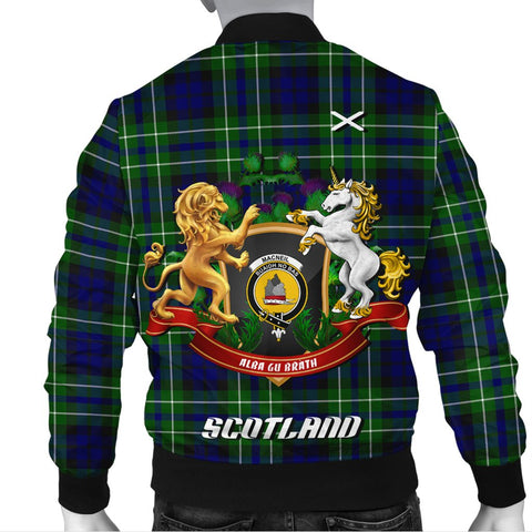 MacNeil of Colonsay Modern | Tartan Bomber Jacket | Scottish Jacket | Scotland Clothing