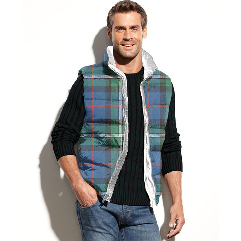 MacPhail Hunting Ancient Tartan Puffer Vest for Men and Women K7