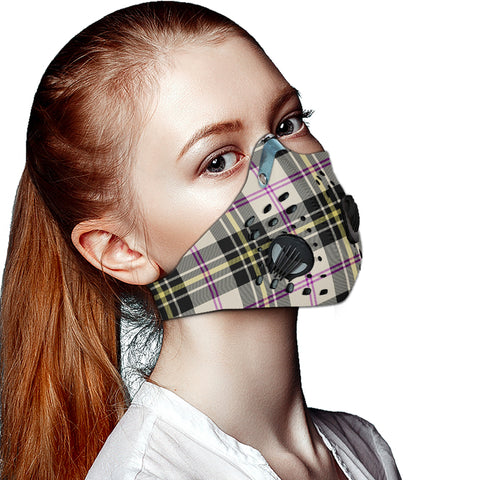 MacPherson Dress Ancient Tartan Dust-proof Sports Masks ( Model 1) - TH88 (USA Shipping Line)