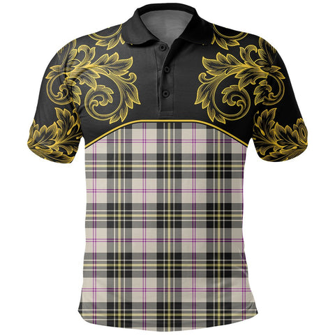 MacPherson Dress Ancient Tartan Clan Crest Polo Shirt - Empire I - HJT4 - Scottish Clans Store - Tartan Clans Clothing - Scottish Tartan Shopping - Clans Crest - Shopping In scottishclans - Polo Shirt For You